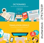 concepts for foreign language... | Shutterstock .eps vector #279174239