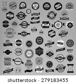 set of retro vintage labels ... | Shutterstock .eps vector #279183455