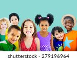 diversity children friendship... | Shutterstock . vector #279196964