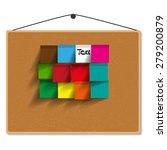board paper vector illustration | Shutterstock .eps vector #279200879