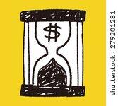 Money Hourglass Doodle