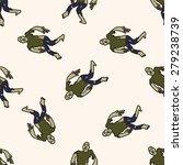 zombie   cartoon seamless...   Shutterstock .eps vector #279238739