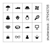 accessories icons universal set ... | Shutterstock . vector #279242735