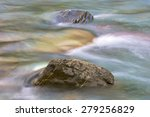 Two Stones In A River  Pineta...