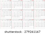 Vector Calendar Planner...