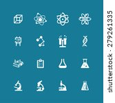 science icons | Shutterstock .eps vector #279261335