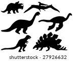 dinosaur | Shutterstock . vector #27926632