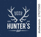 Deer Hunters Club Abstract...