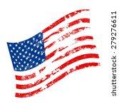 american flag vector icon | Shutterstock .eps vector #279276611