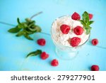 cottage cheese with fresh... | Shutterstock . vector #279277901