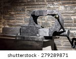grip vice on the background of... | Shutterstock . vector #279289871