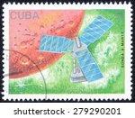 cuba   circa 1988  a stamp... | Shutterstock . vector #279290201