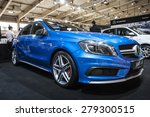 poznan   april 10  mercedes a45 ... | Shutterstock . vector #279300515