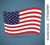 america flag icon | Shutterstock . vector #279306989