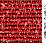 music notes background.  vector ... | Shutterstock .eps vector #279308477