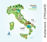 info graphic travel and... | Shutterstock .eps vector #279316655