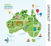 info graphic travel and... | Shutterstock .eps vector #279319247