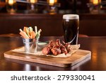 chicken wings with blue cheese...   Shutterstock . vector #279330041