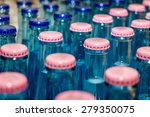 lots of mineral water glass... | Shutterstock . vector #279350075