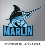 marlin | Shutterstock .eps vector #279351485
