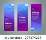 abstract banner design ...   Shutterstock .eps vector #279374219