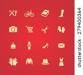 accessories icons universal set ... | Shutterstock . vector #279400364