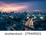 business building bangkok city... | Shutterstock . vector #279409031