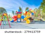 swing carousel in the park for... | Shutterstock . vector #279413759