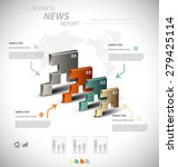 business infographic template... | Shutterstock .eps vector #279425114