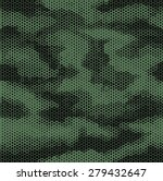 octagon camouflage seamless... | Shutterstock .eps vector #279432647