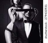 fashion studio photo of a... | Shutterstock . vector #279433931