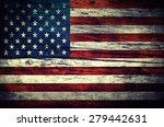 Vintage Flag Of The United...