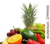 fresh fruits and vegetables... | Shutterstock . vector #27944543
