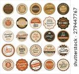 premium  quality retro vintage... | Shutterstock .eps vector #279447767
