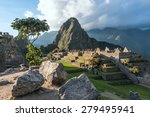 machu picchu  andes  sacred... | Shutterstock . vector #279495941