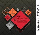 vector flat squares design... | Shutterstock .eps vector #279505211