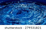 Blue Water Surface  Abstract...