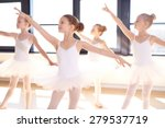 choreographed dance by a group... | Shutterstock . vector #279537719