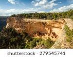 Cliff Dwellings In Mesa Verde...