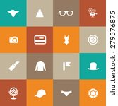 accessories icons universal set ... | Shutterstock . vector #279576875