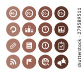 analytics  research icons... | Shutterstock . vector #279589511