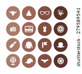 accessories icons universal set ... | Shutterstock . vector #279589541
