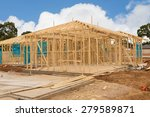 view of construction site house ... | Shutterstock . vector #279589871