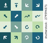 arrows icons universal set for...   Shutterstock . vector #279594371