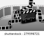 film strip. vector illustration   Shutterstock .eps vector #279598721