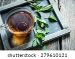 tea with mint | Shutterstock . vector #279610121
