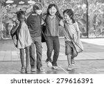 school happiness. multi racial... | Shutterstock . vector #279616391