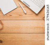 computer  pen  notepad on a...   Shutterstock . vector #279626165