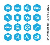 auto icons universal set for... | Shutterstock . vector #279631829