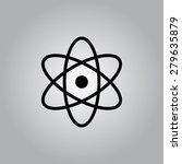 atom icon. | Shutterstock .eps vector #279635879